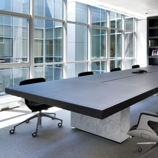 Tecno Asymmetrical Meeting Table